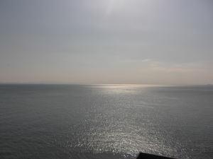 羽豆岬から見た海