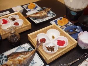 ある日の朝食 冬