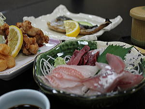 合宿プラン 魚料理